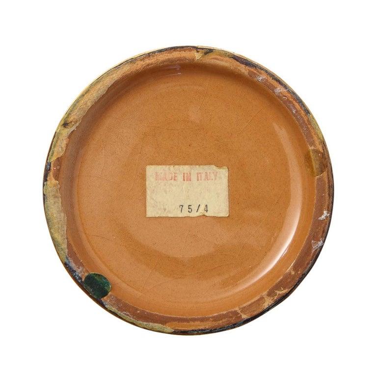 Bitossi Vase, Ceramic, Brushed Gold For Sale 5