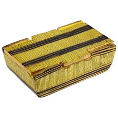 Bitossi Yellow Safety Pin Ceramic Box