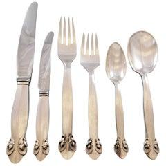 Bittersweet by Georg Jensen Sterling Silver Flatware Set 12 Dinner Service 78 Pc
