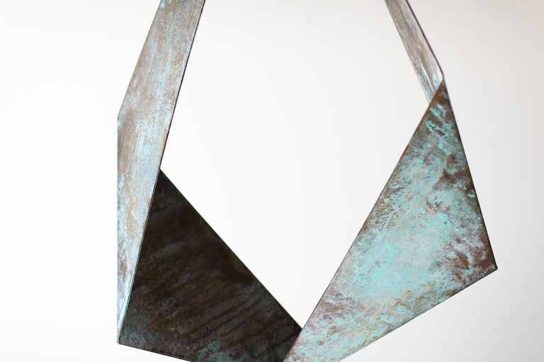 BJ Keith Transcendent Brass Sculpture for C Jere Artisan House In Good Condition For Sale In Oak Harbor, OH