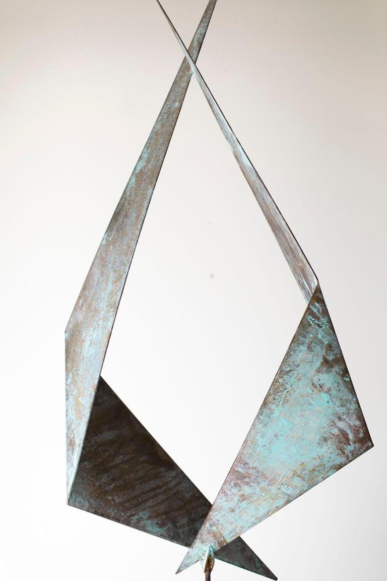 BJ Keith Transcendent Brass Sculpture for C Jere Artisan House For Sale 3
