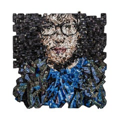 Björk Decorative Panel by Mosaici Ursula Corsi