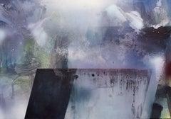 Bleeding Edge, Painting, Acrylic on Metal