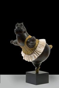 Hippo Ballerina, pirouette