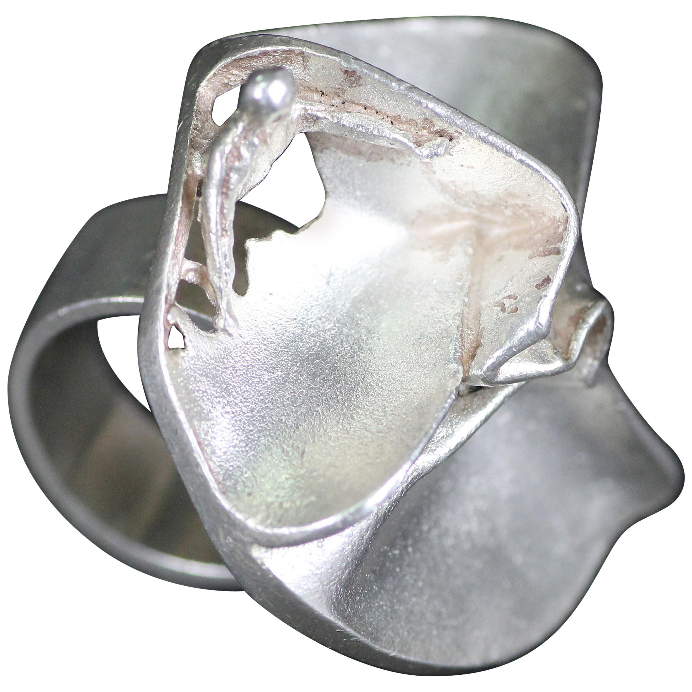 Björn Weckström 1969, Sterling Silver Ring for Lapponia Finland