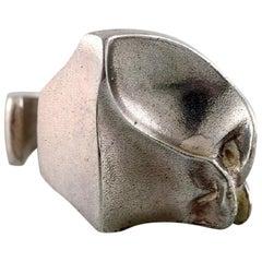 Björn Weckström, Finland, Sterling Silver Vintage Handade Modernist Ring