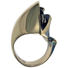 Björn Weckström for Lapponia Abstract Ring, circa 1970