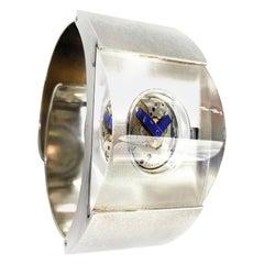 Björn Weckström Wrist Watch, Time Machine Sterling Silver 925