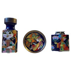 Bjorn Wiinblad Artist Line Porcelain Set for Rosenthal, 1970s, Set of 3