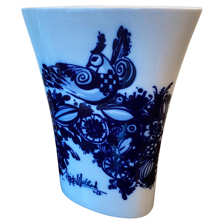 Bjorn Wiinblad for Rosenthal Porcelain Vase