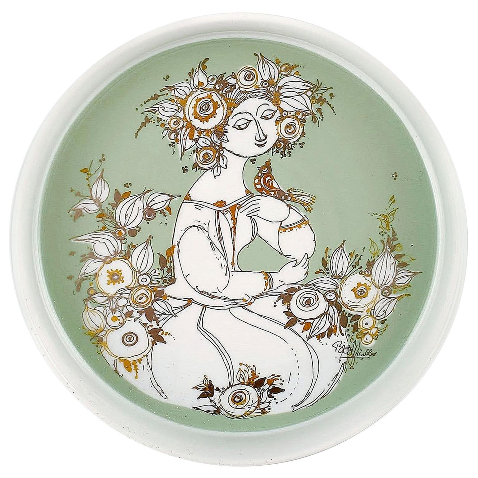 Bjorn Wiinblad for Rosenthal Studio Line, Porcelain Dish