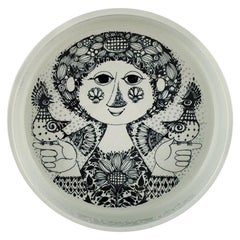 Bjørn Wiinblad for Nymølle, Bowl in Glazed Ceramics, 1970s
