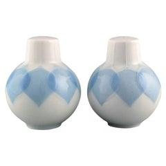 Bjørn Wiinblad for Rosenthal, Lotus Salt and Pepper Shaker in Porcelain