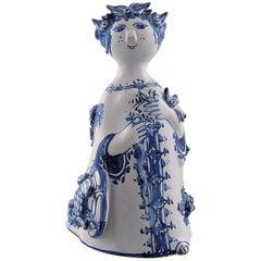 Bjørn Wiinblad Unique Ceramic Figure, Aun, Model M10