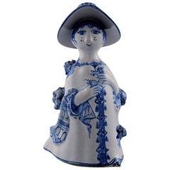 Bjørn Wiinblad Unique Ceramic Figure, Aunt, Model M14
