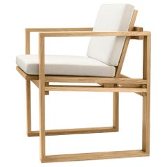 BK10 Dining Chair with Cushion by Bodil Kjær