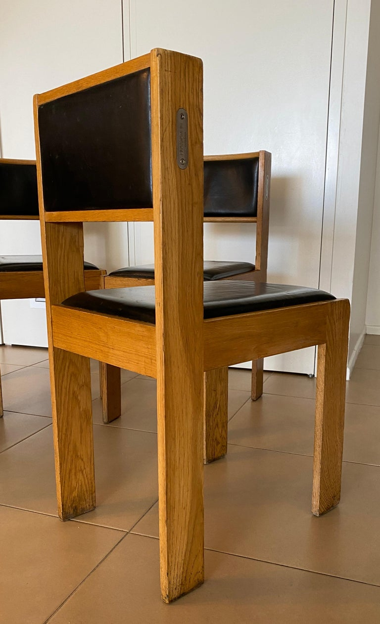 Leather Bla' Station, Condeco Chair by Johan Lindau, 2003 For Sale