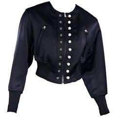 Black 3.1 Phillip Lim Cropped Jacket