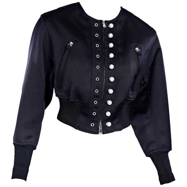 dc8049f6 Black 3.1 Phillip Lim Cropped Jacket