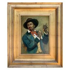 Black Americana Portrait of a Musician, by N. Bingham
