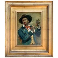 Black Americana Portrait of a Musician by N. Bingham