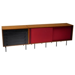 Black and Red Sideboard by Franco Campo and Carlo Graffi