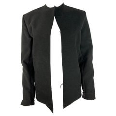 Black and White Blazer Jacket, Size S