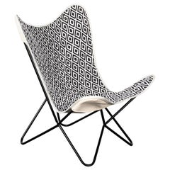Black and White Butterfly Chair