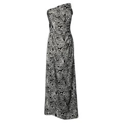 Black and White cocktail's dress Philip Hulitar for Neiman Marcus