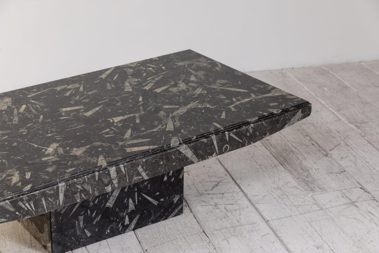 Black and White Modernist Marble Cocktail Table 5