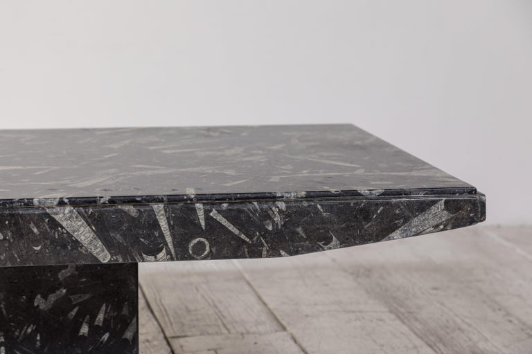 Black and White Modernist Marble Cocktail Table 3