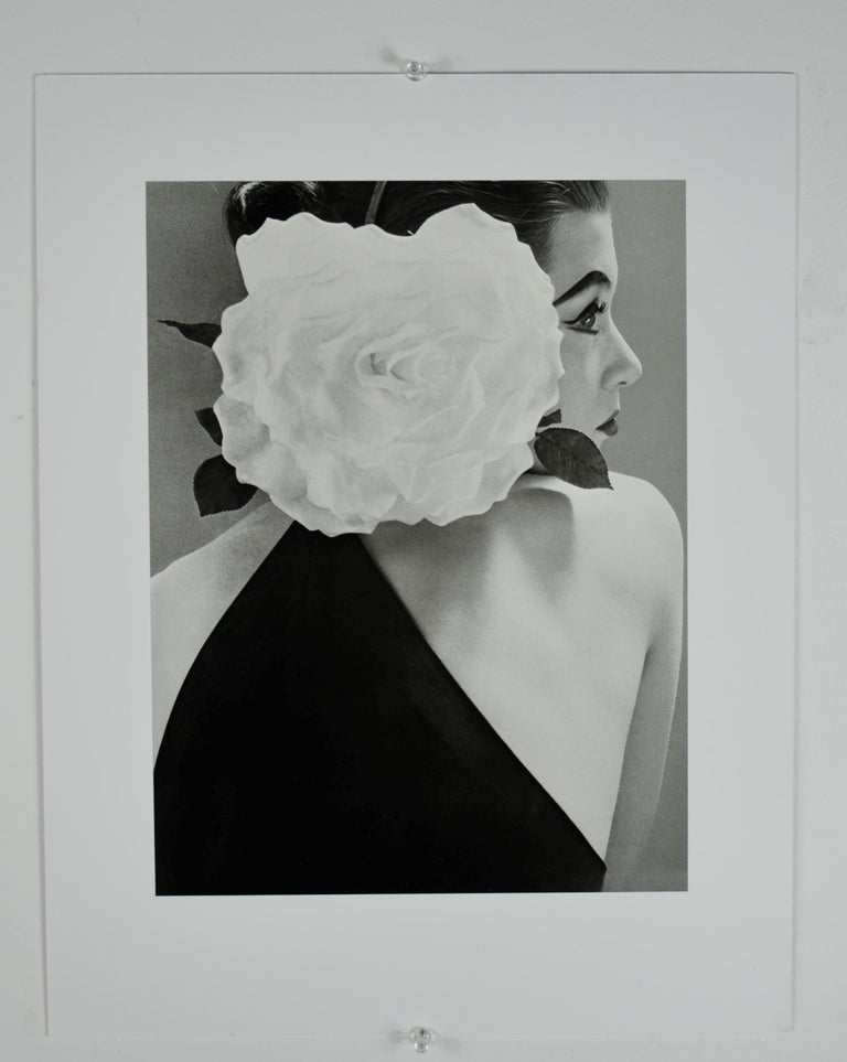 "Offered is a black and white photograph by Richard Avedon entitled, ""Barbara Mullen"" 1951 Sheet-fed Gravure printed in the 1980s in France. The subject of the photograph, Barbara Mullen, was a very well known rough around the edges Irish/American"