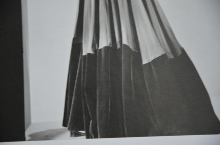 Black and White Photo Lithograph by Maurice Tabard for Harper's Bazaar, 1947 For Sale 9