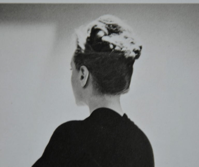 French Black and White Photo Lithograph by Maurice Tabard for Harper's Bazaar, 1947 For Sale