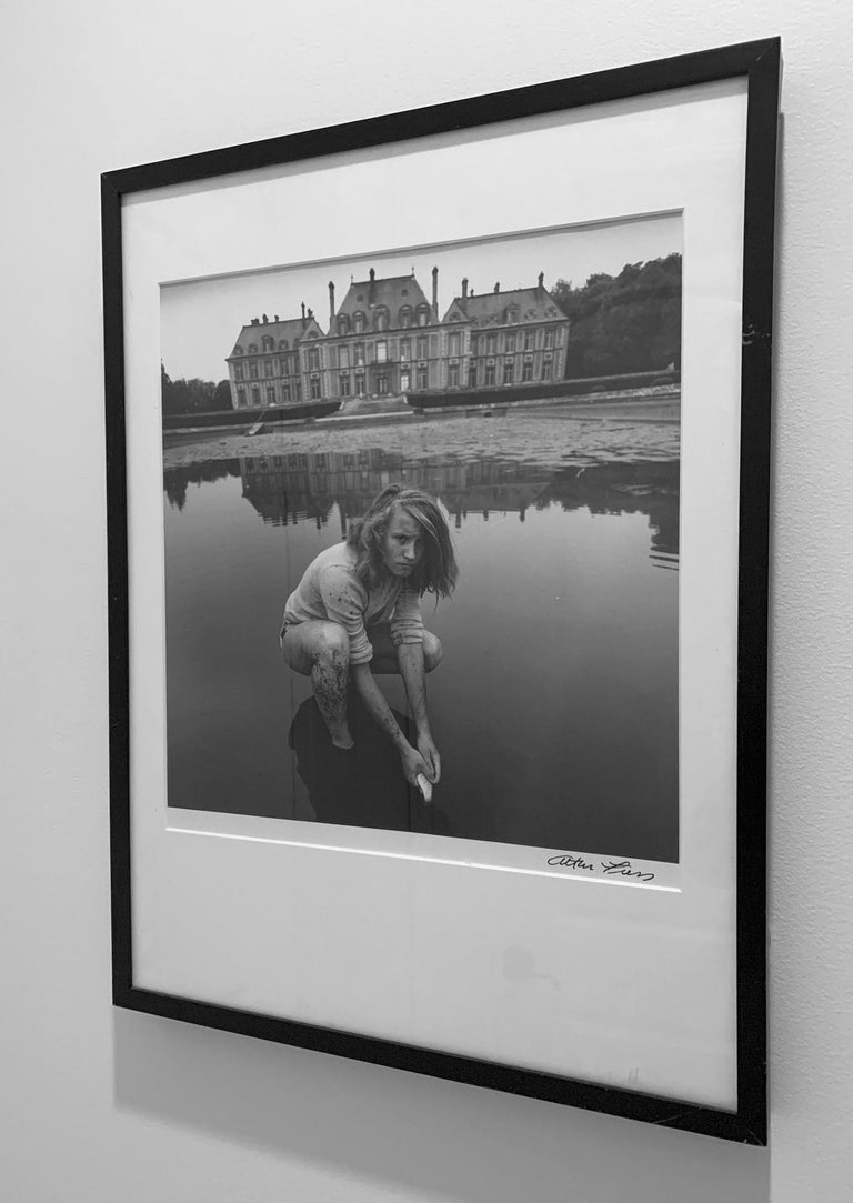 Wood Black and White Photograph by Arthur Tress For Sale