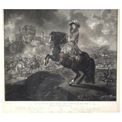 "Black and White Print, ""James Duke of Monmouth"""