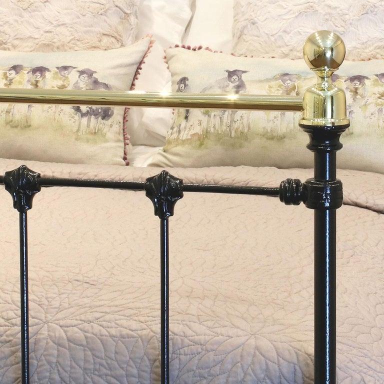 European Black Antique Bed MD90 For Sale