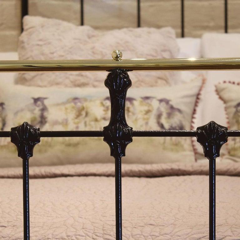 Brass Black Antique Bed MD90 For Sale