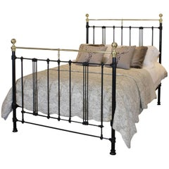 Black Antique Bed, MK146
