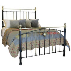 Black Antique Bed MK187