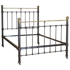 Black Antique Double Bed, MD81
