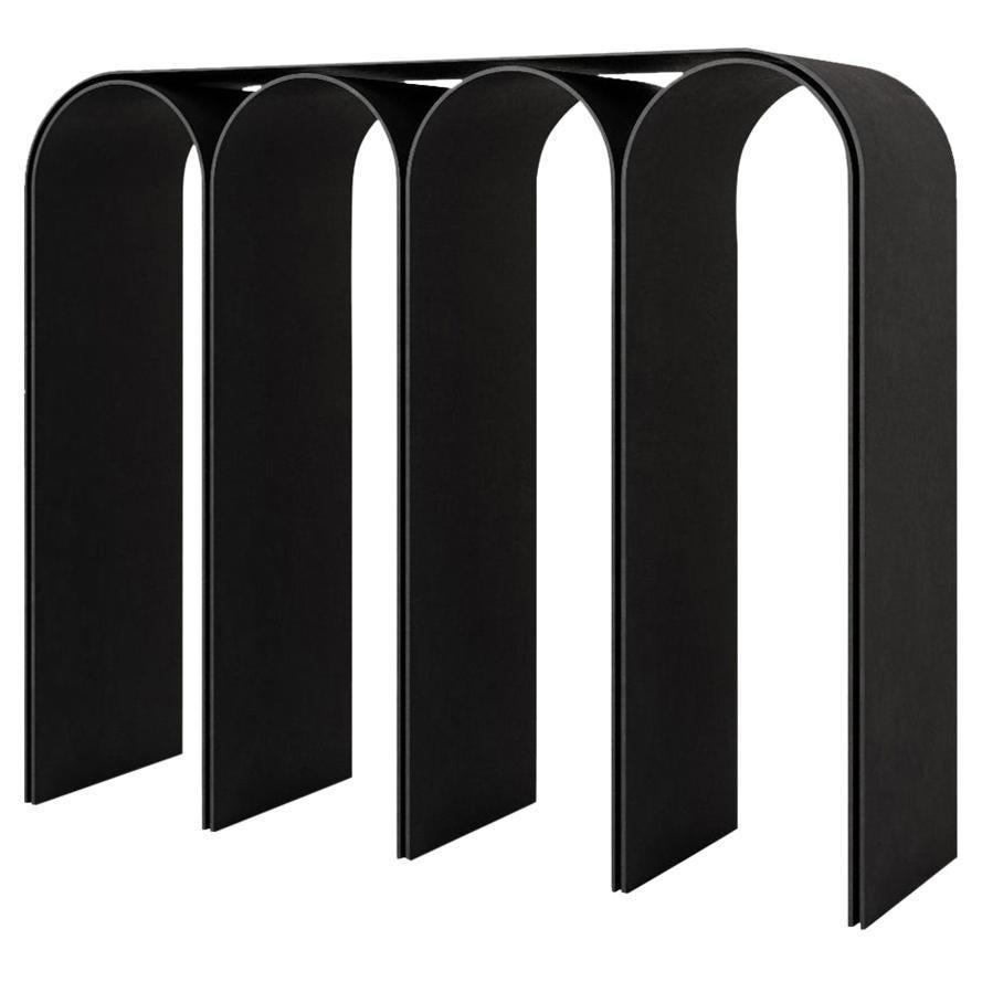 Black Arch Console by Pietro Franceschini