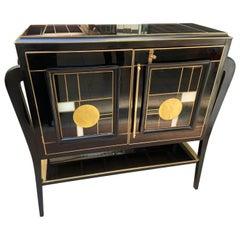 Black Bar Cabinet, circa 1950/60