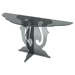 Black Baroco Console Table