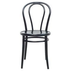 Black Bentwood Chair in the Style of Thonet, circa 1950