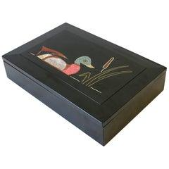 Black Box with Mallard Duck