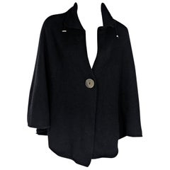 Black Brunello Cucinelli Cashmere Cape