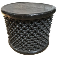 Black Cameroon Table from the Acacia Tree
