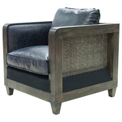 Black Cannage Armchair