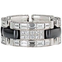 Black Ceramic Diamond Ultra 4.13 Carat Ring